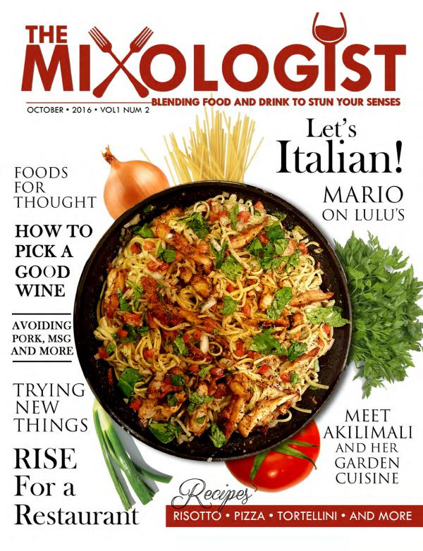 The Mixologist Volume 1 Issue 2