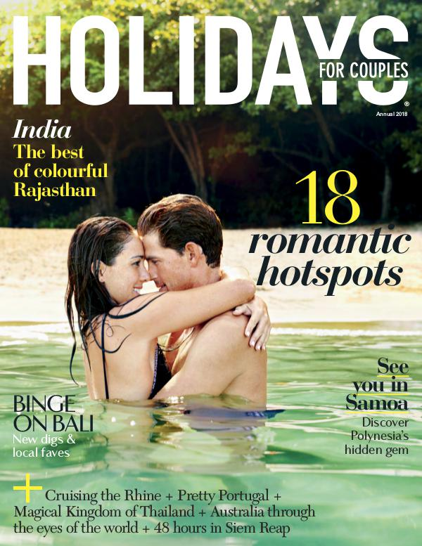 Holidays for Couples 2018
