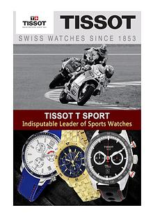 Tissot T Sport-Indisputable Leader of Sports Watches
