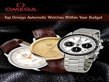 Top Omega Automatic Watches Within Your Budget