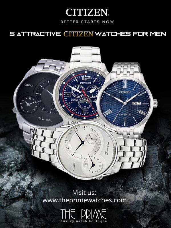 5 Attractive Citizen Watches For Men 5 Attractive Citizen Watches For Men