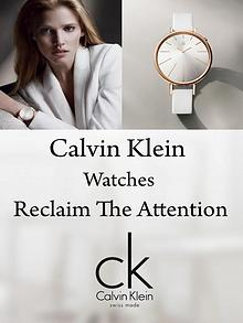 Calvin Klein Watches - Reclaim The Attention
