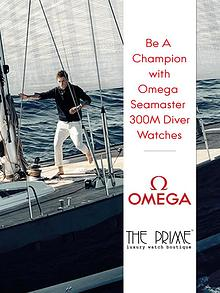 Be A Champion with Omega Seamaster 300M Diver Watches
