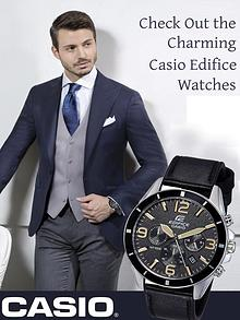 Check Out the Charming Casio Edifice Watches