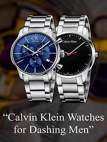 Calvin Klein Watches for Dashing Men