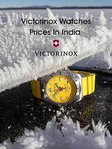 Victorinox Watches Prices in India