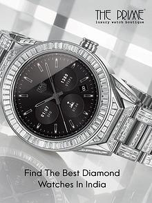 Find the Best Diamond Watches in India