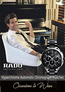 Rado HyperChrome Automatic Chronograph Watches – Occasions to Wear