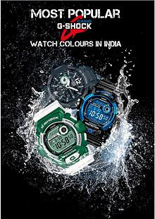Most Popular Casio G – Shock Watch Colours in India