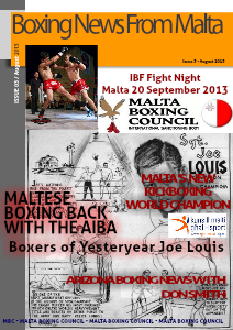Malta Boxing Council News Issue 3 - August, 2013