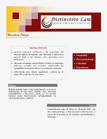 Distinctive Law