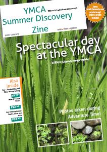 Summer Discovery Zine June 2013