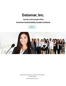 Datamar Inc and American Sustainability Leaders Institute