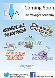 Coming Soon at The Voyager Academy Summer 2013