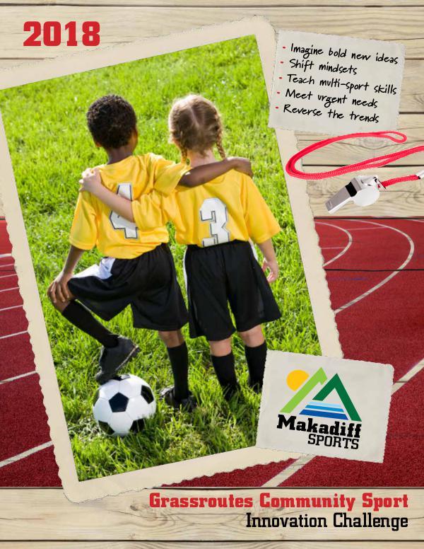 Makadiff Sports Program Parameters 2018 Volume 4 - 2018