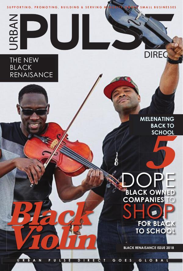 Urban Pulse Direct Black Violin Aug. 2018