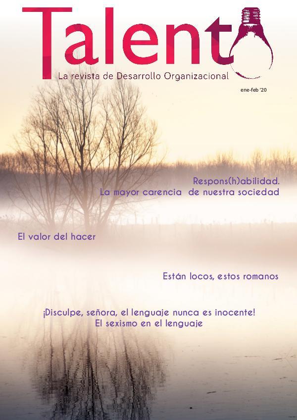 TALENTO ENE-FEB 2020 talentoENE2020