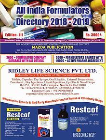 All India API & Bulk Drugs Directory