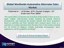 Global Automotive Alternator