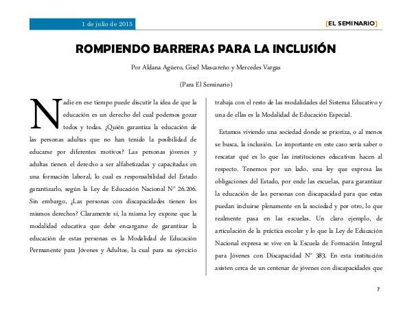 ROMPIENDO BARRERAS PARA LA INCLUSIÓN 1