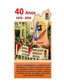 40º ANIVERSÁRIO FESETE