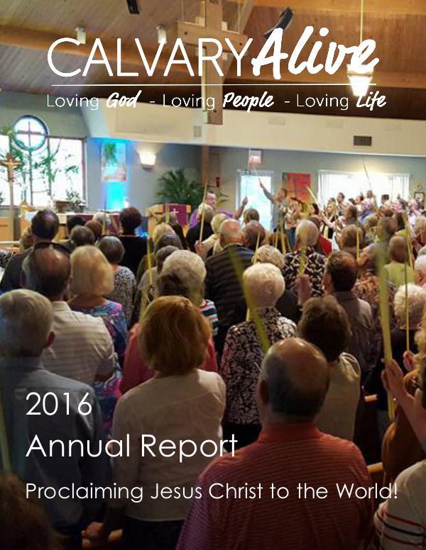 Calvary Alive Newsletter Issue 2