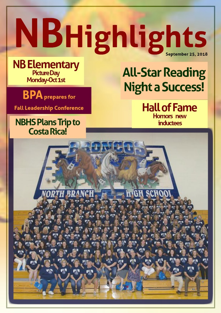 NB Highlights 2018-2019 September 25, 2018