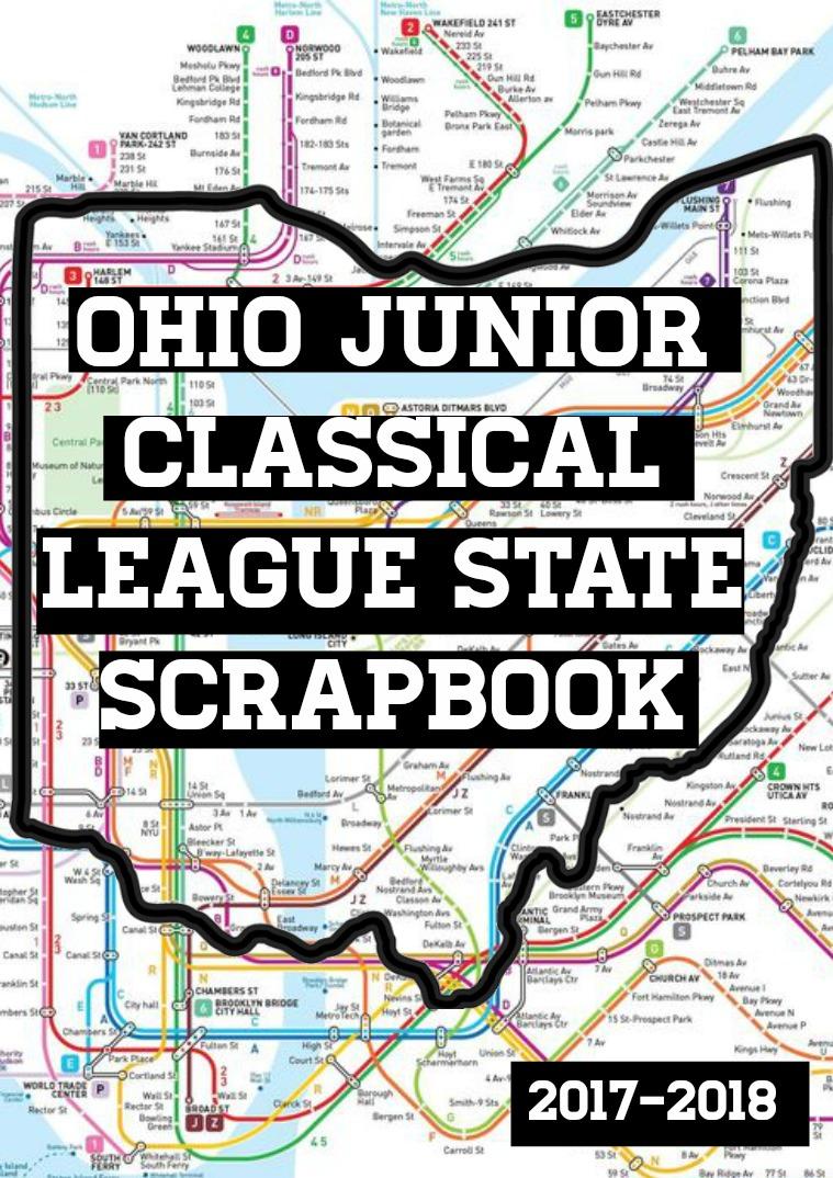 2018-2019 OJCL Scrapbook 1