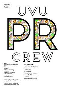 UVU PR CREW
