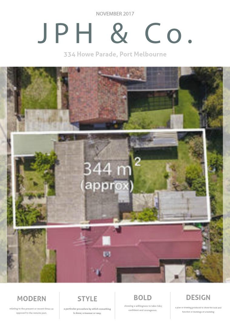 JPH & Co Real Estate 334 Howe Parade, Port Melbourne