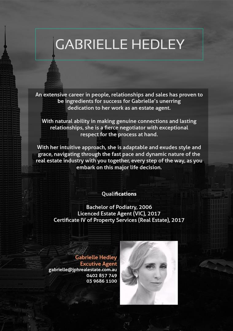 JPH & Co Real Estate Gabrielle Hedley a