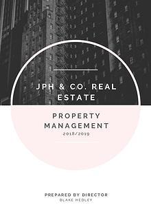 JPH & Co Real Estate - Rental Management