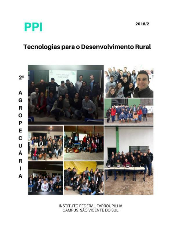 Tecnologias para o Desenvolvimento Rural volume 2