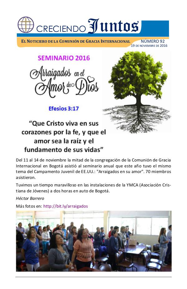Creciendo Juntos 19/NOV/2016