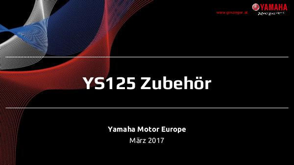 Yamaha Zubehör für YS 125 YS 125 MY17