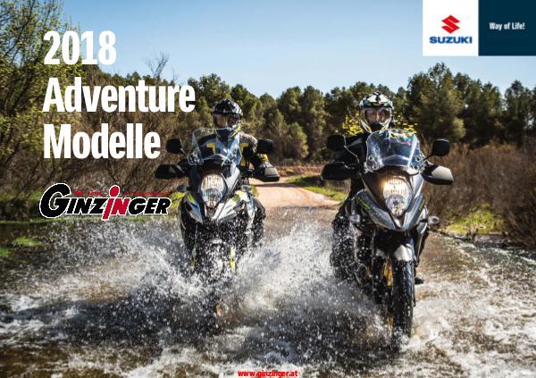 Suzuki Modelle bei Zweirad Ginzinger Suzuki Adventure 2018