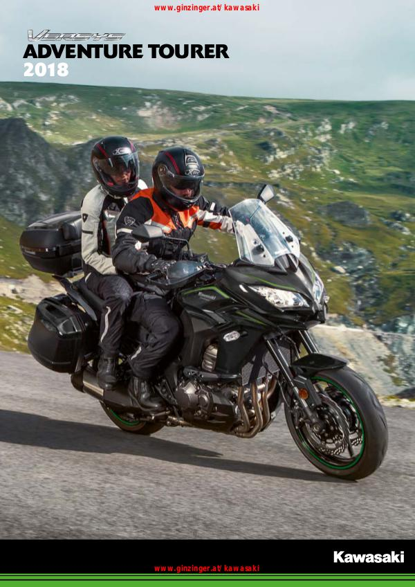 Kawasaki Adventure Tourer 2018