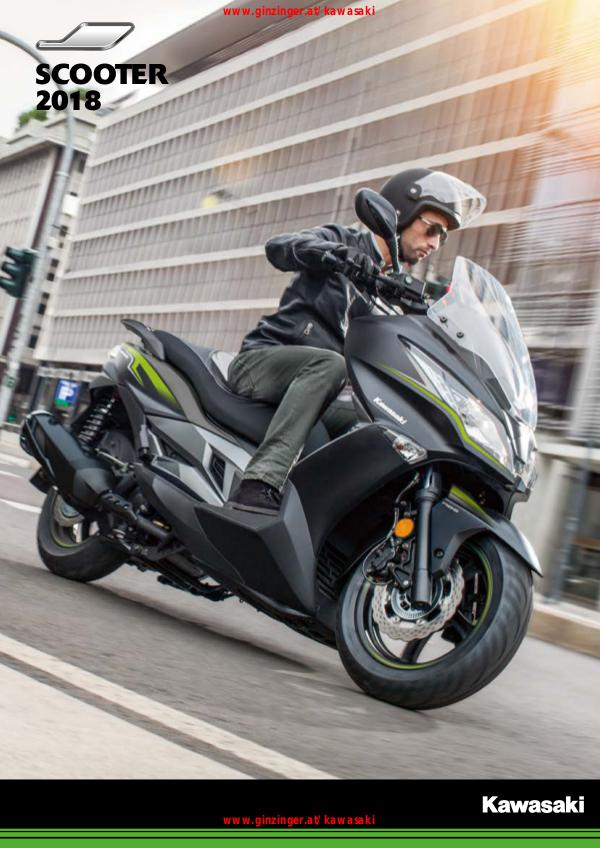 Kawasaki Scooter 2018
