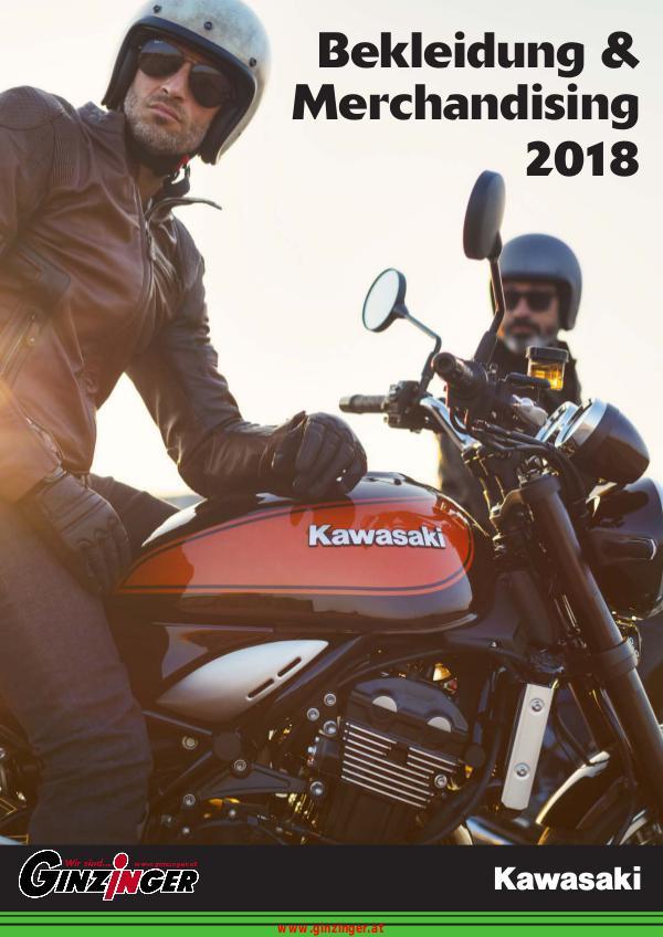 Zubehör und Bekleidung Kawasaki Bekleidung und Merchandising 2018