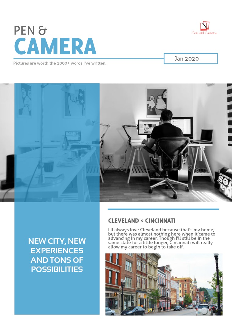 Pen & Camera January 2020