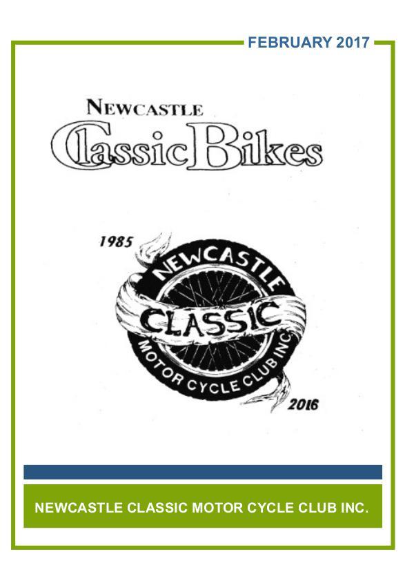 Newcastle Classic Bikes February 2017