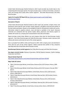 United States Bronchoscopes Market to 2023