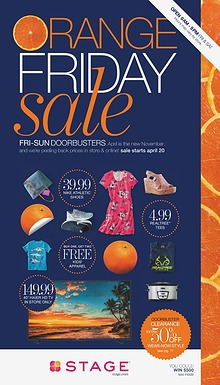 Orange Friday Sale Catalog