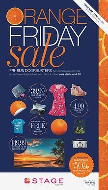 Orange Friday Sale Catalog