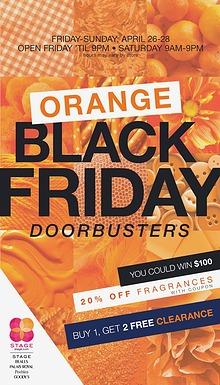 Orange Friday