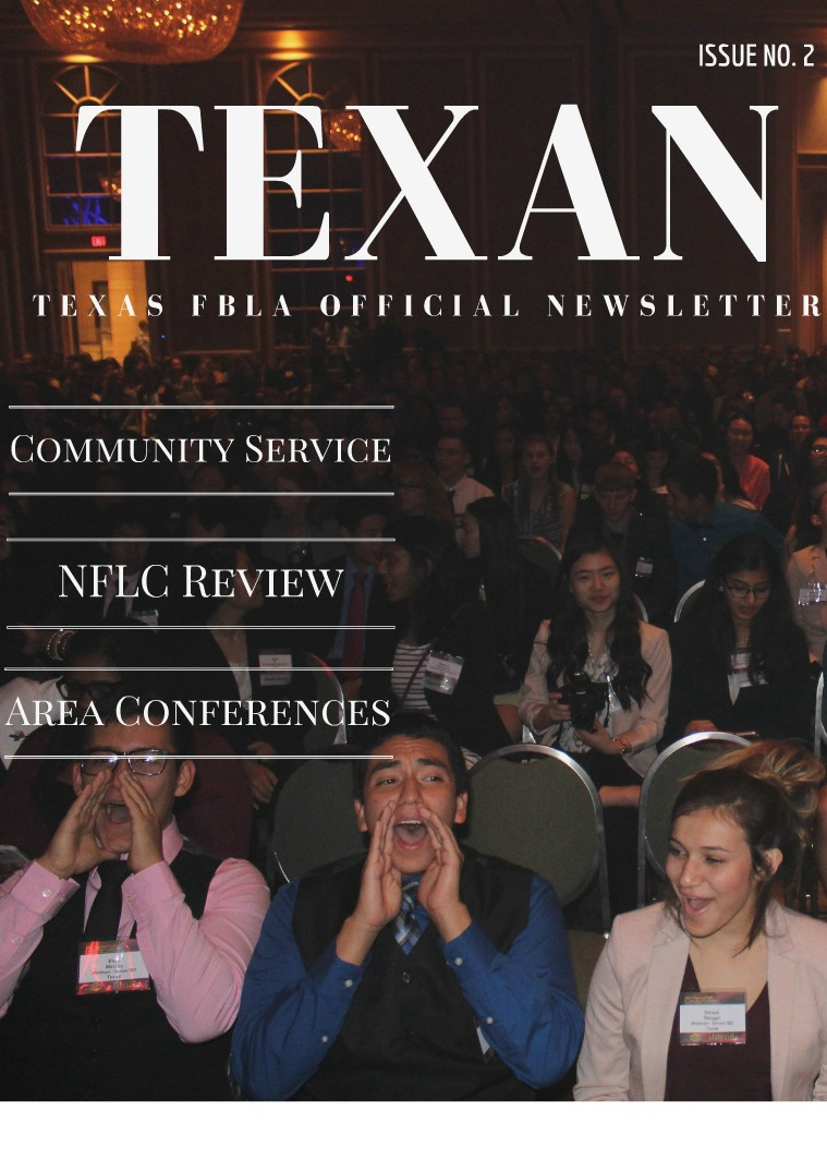 The Texan Issue 2 The Texan Issue 2