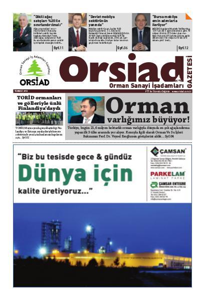 Sayı 1 - Temmuz 2012
