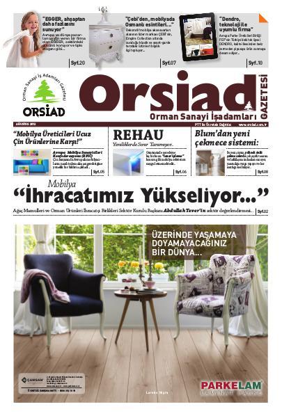 Orsiad Gazetesi Sayı 2 - Ağustos 2012