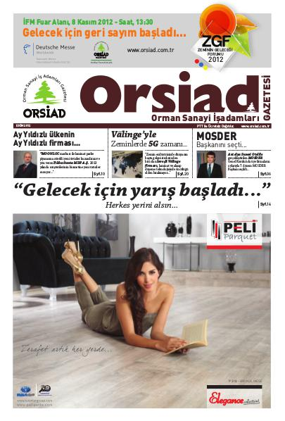 Orsiad Gazetesi Sayı 4 - Ekim 2012