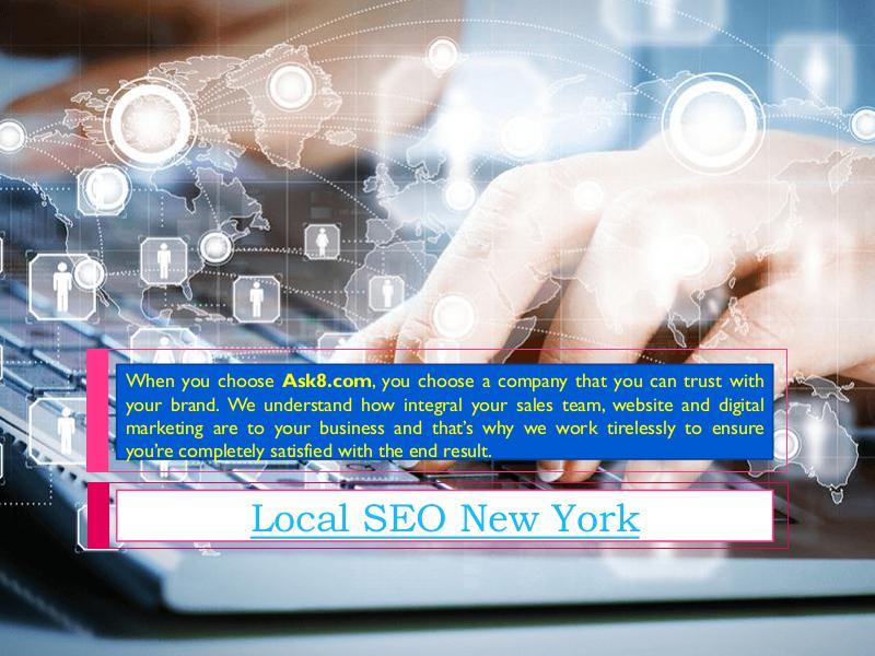 Search Engine Optimization New York SEO Firm New York